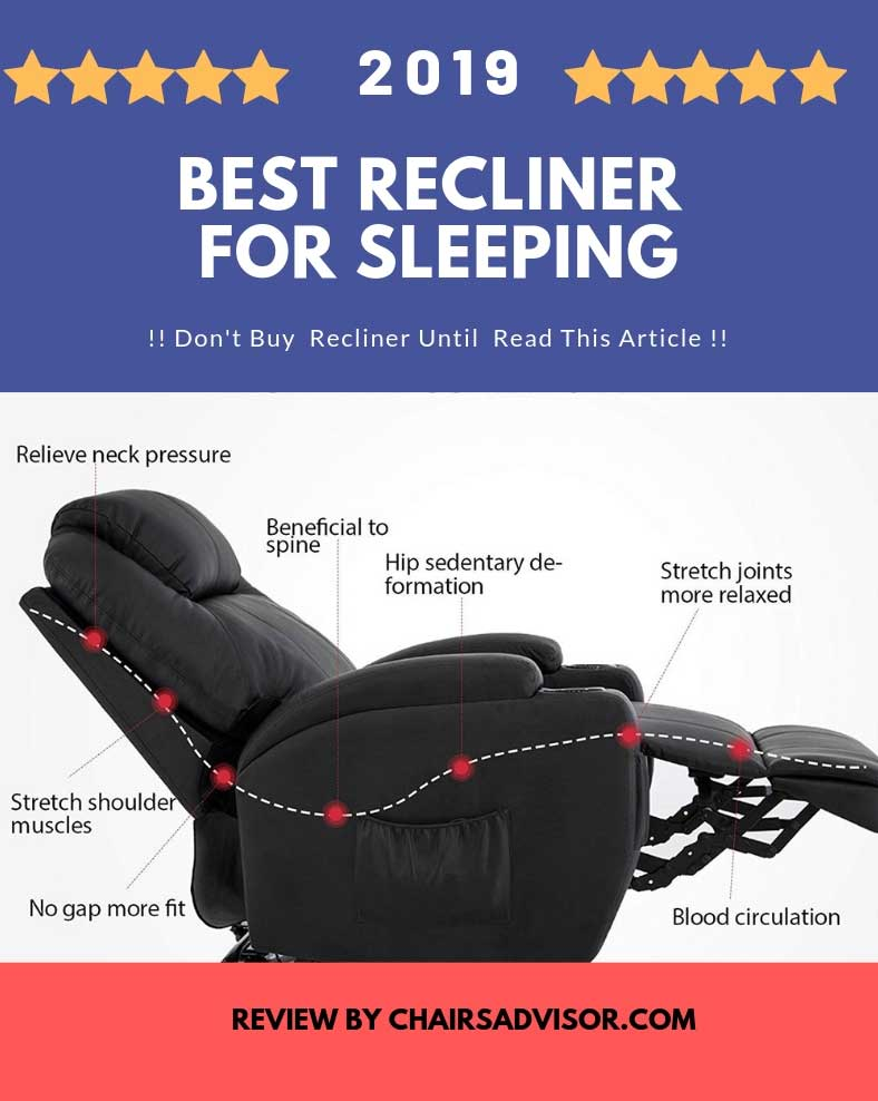 Phenomenal Top Picks 7 Best Recliner For Sleeping In 2019 Reviews Frankydiablos Diy Chair Ideas Frankydiabloscom