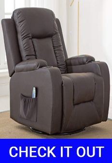 ComHoma Leather Chair Recliner