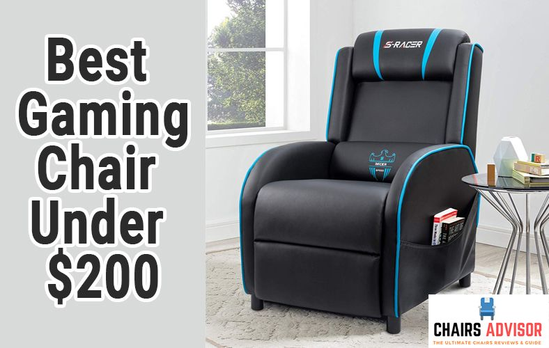 Fine 10 Best Gaming Chairs Under 200 Reviews Buying Guide 2019 Ibusinesslaw Wood Chair Design Ideas Ibusinesslaworg