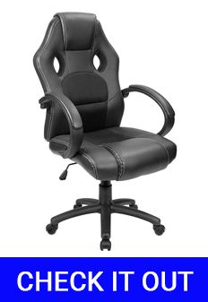 Furmax Leather Desk Gaming Chair Under $100 Review