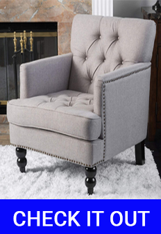 Great Deal Furniture Tufted Club Chair Review