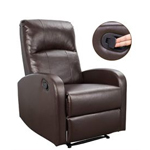 Homall Padded PU Leather Recliner Chair