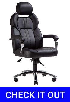 TOPSKY Office Executive Large Leather Office Chair Review