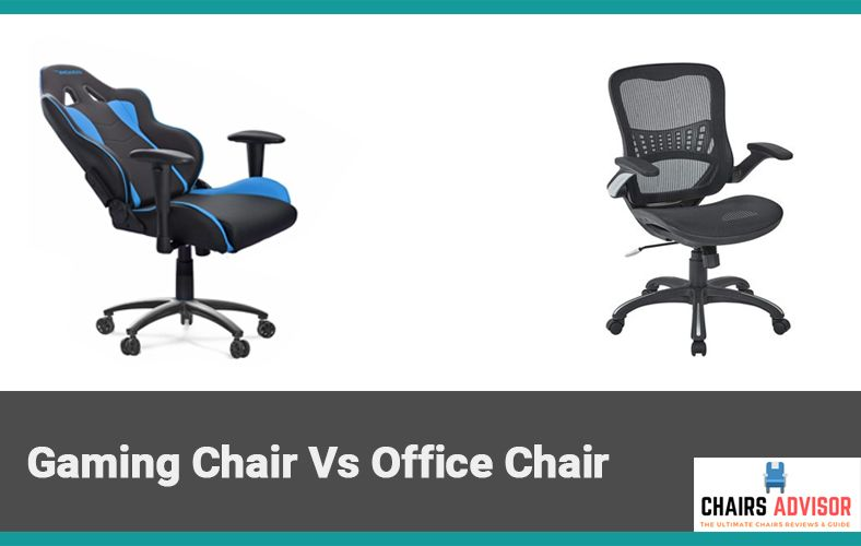 Peachy Gaming Chair Vs Office Chair Which One Is Best For You Creativecarmelina Interior Chair Design Creativecarmelinacom
