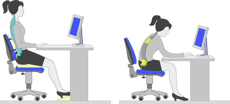 Sit At The Desk With Sciatica