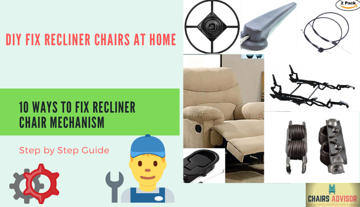 How to fix recliner chair mechanism