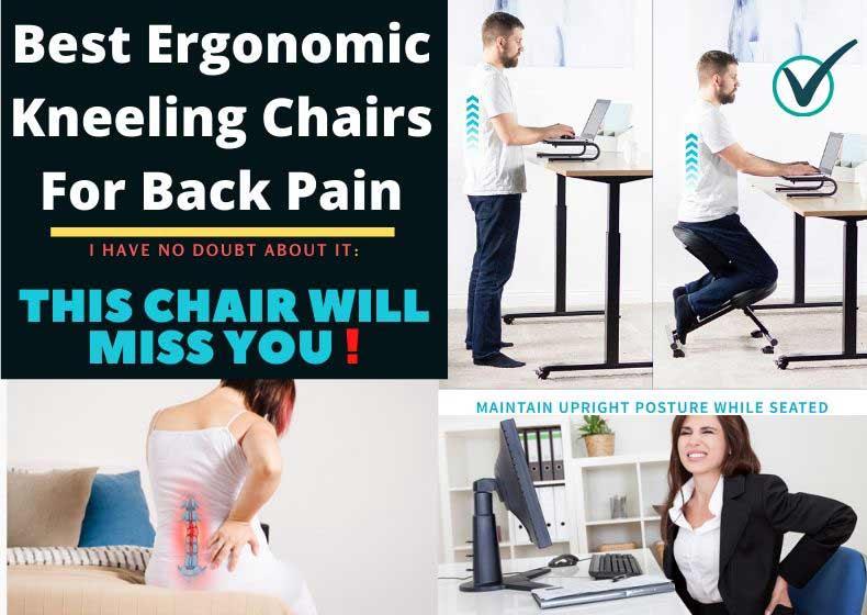 Best Ergonomic Kneeling Chairs for Back Pain