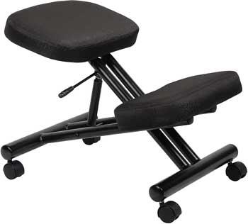 Boss Office B248 Ergonomic Kneeling Chair: Best for Long Hour Work
