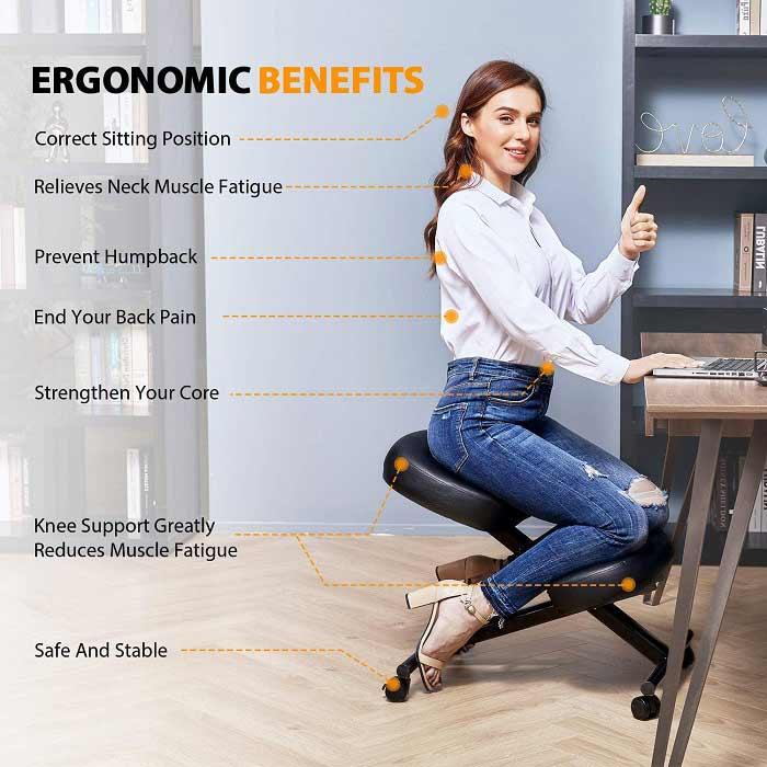 Himimi Ergonomic Adjustable Kneeling Chair Review