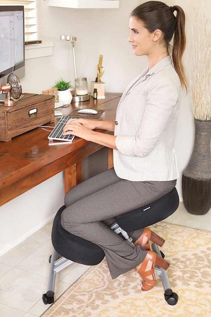 Varier Variable Balans Kneeling Chair: Best for Hip Flexor Sitting