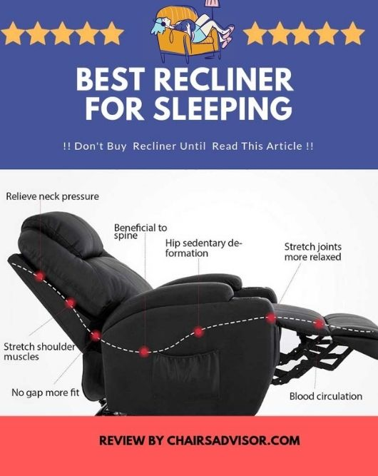 7 Best Recliners For Sleeping 2021 Review Buying Guide Chairs Advisor