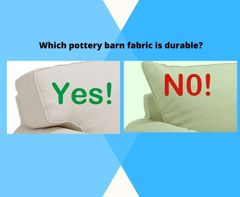 pottery barn sofafabric
